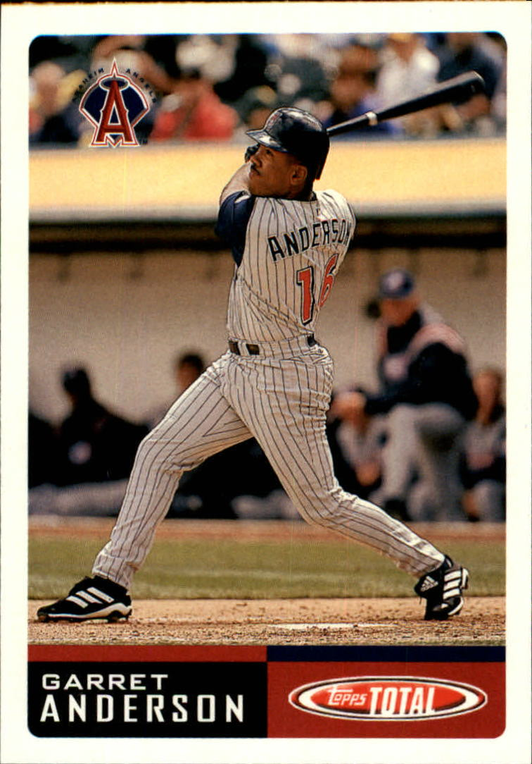 2002 Topps Total #846 Garret Anderson