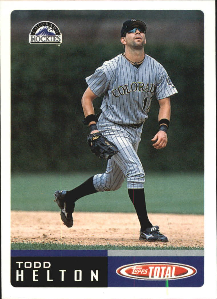 2002 Topps Total Team Checklists #TTC10 Todd Helton