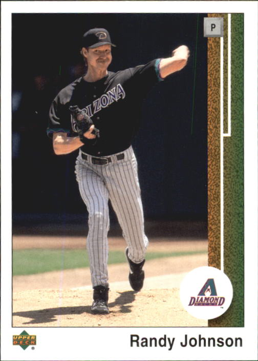 2002 UD Authentics #118 Randy Johnson front image