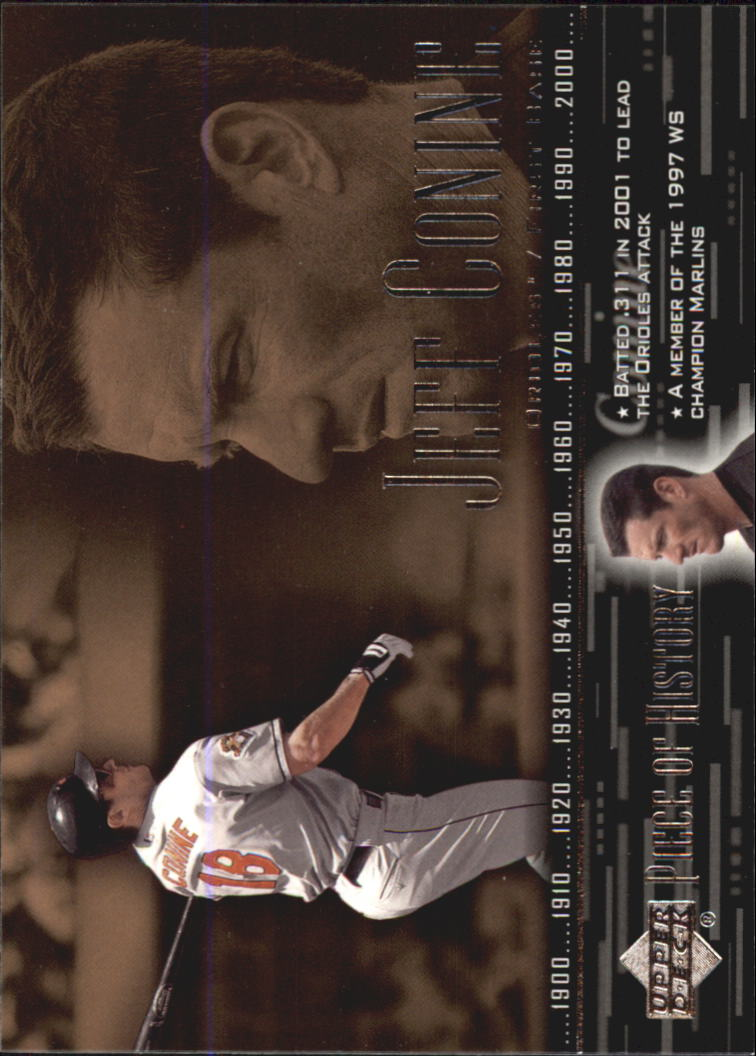 2002 UD Piece of History #17 Jeff Conine