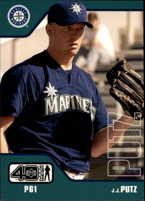 2002 Upper Deck 40-Man #190 J.J. Putz RC