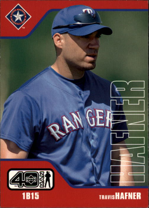 2002 Upper Deck 40-Man #239 Travis Hafner