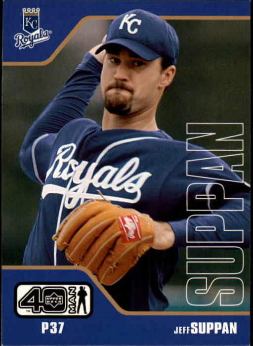 2002 Upper Deck 40-Man #300 Jeff Suppan