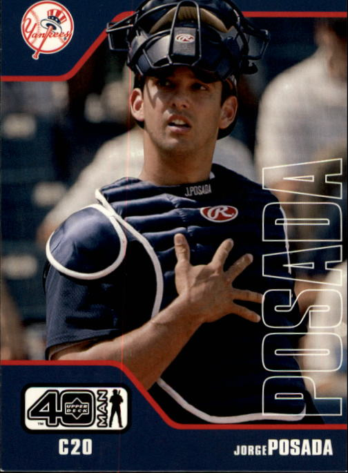 2002 Upper Deck 40-Man #444 Jorge Posada