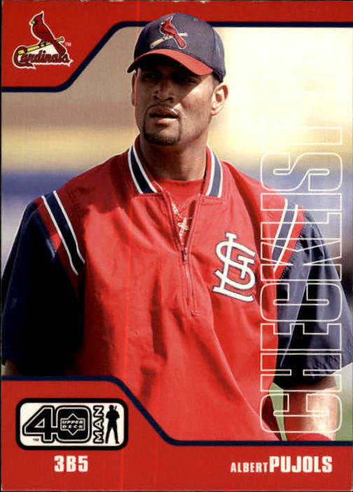 2002 Upper Deck 40-Man #1182 Albert Pujols CL