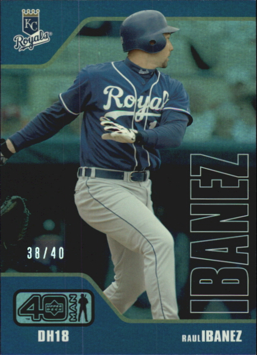 2002 Upper Deck 40-Man Electric Rainbow #304 Raul Ibanez