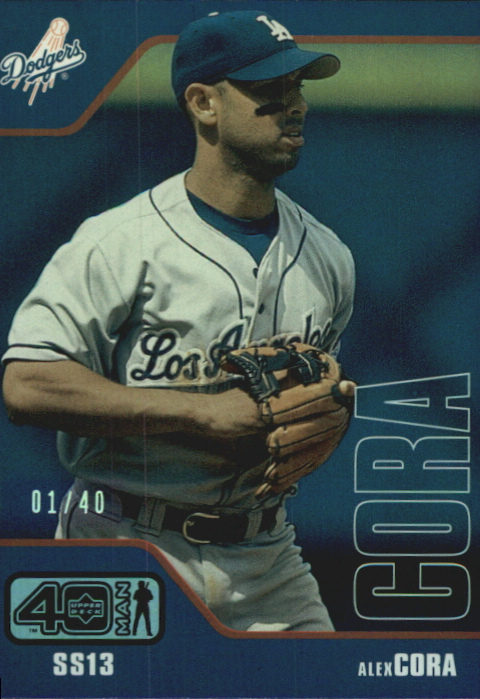 2002 Upper Deck 40-Man Electric Rainbow #688 Alex Cora