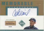 2002 Upper Deck Diamond Connection Memorable Signatures Bat #IS Ichiro Suzuki/99