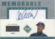 2002 Upper Deck Diamond Connection Memorable Signatures Jersey #IS Ichiro Suzuki/99