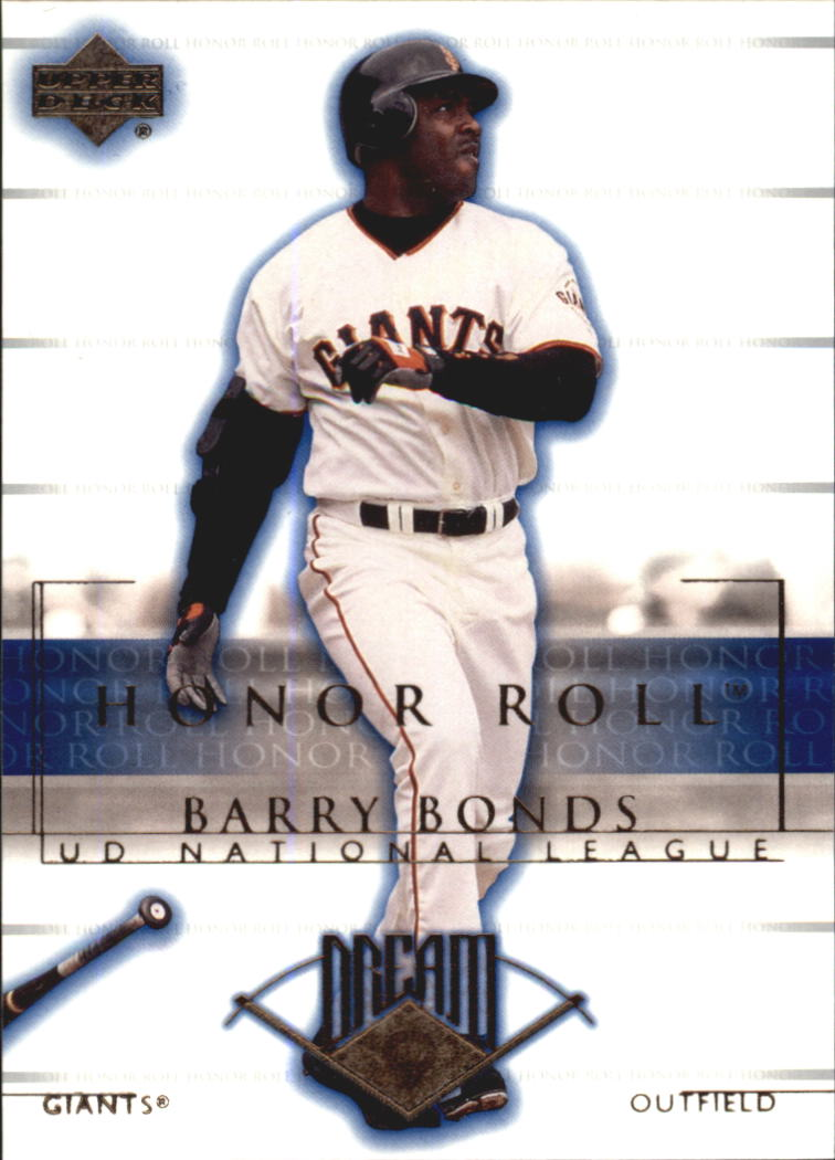 2002 Upper Deck Honor Roll #7 Barry Bonds NLD9