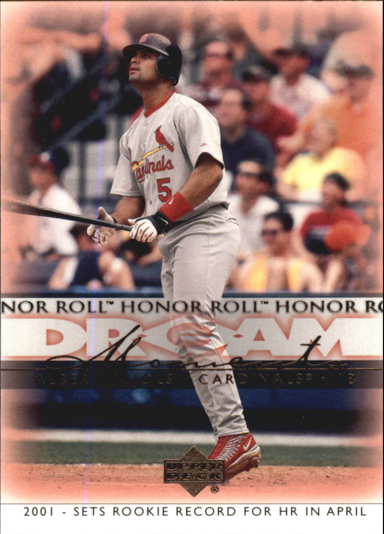 2002 Upper Deck Honor Roll #36 Albert Pujols