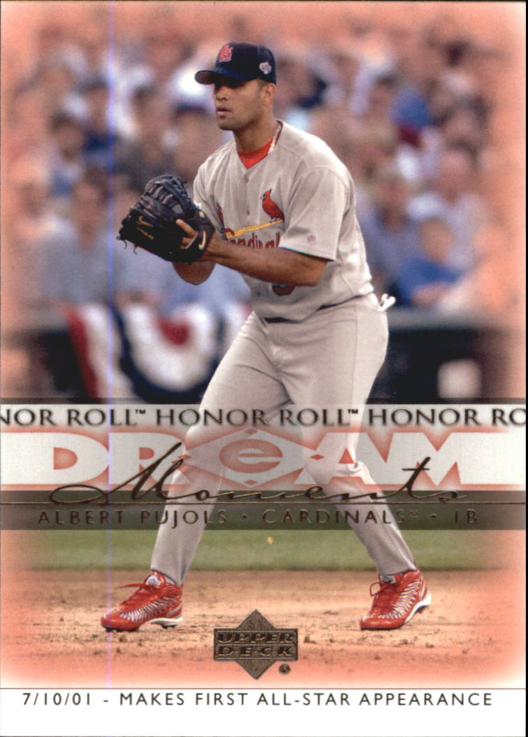 2002 Upper Deck Honor Roll #37 Albert Pujols