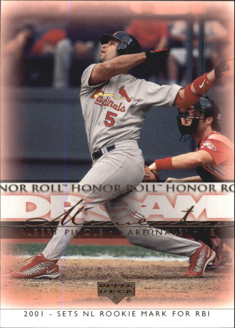 2002 Upper Deck Honor Roll #38 Albert Pujols