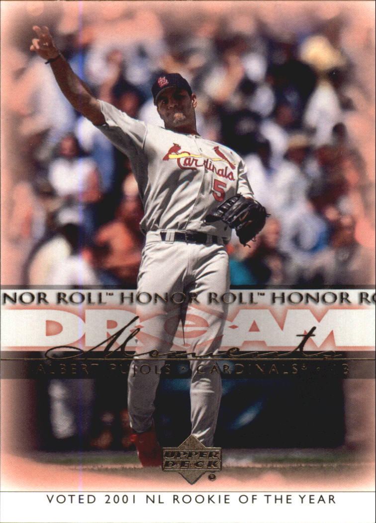 2002 Upper Deck Honor Roll #39 Albert Pujols