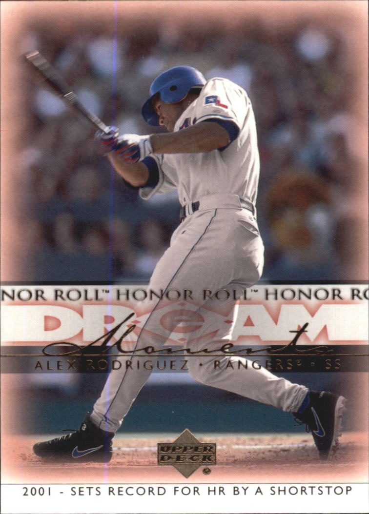 2002 Upper Deck Honor Roll #87 Alex Rodriguez