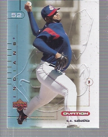 2002 Upper Deck Ovation #8 C.C. Sabathia