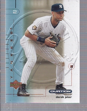 2002 Upper Deck Ovation #26 Derek Jeter