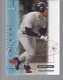 2002 Upper Deck Ovation #30 Lance Berkman