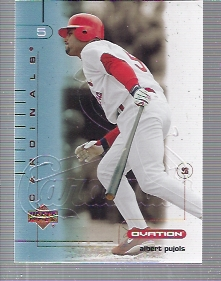 2002 Upper Deck Ovation #35 Albert Pujols