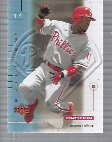 2002 Upper Deck Ovation #55 Jimmy Rollins
