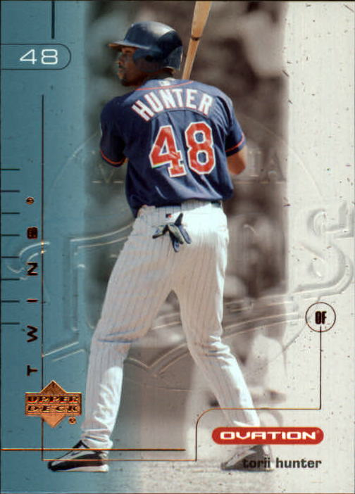 2002 Upper Deck Ovation #134 Torii Hunter