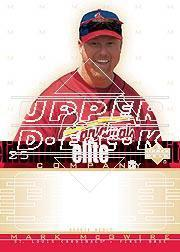 2002 Upper Deck Rookie Debut Elite Company #MM Mark McGwire