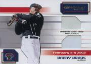2002 Donruss Big League Challenge Materials #46 Barry Bonds Base-Plate