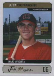 2002 Just the Franchise Prototypes #JTF6 David Wright