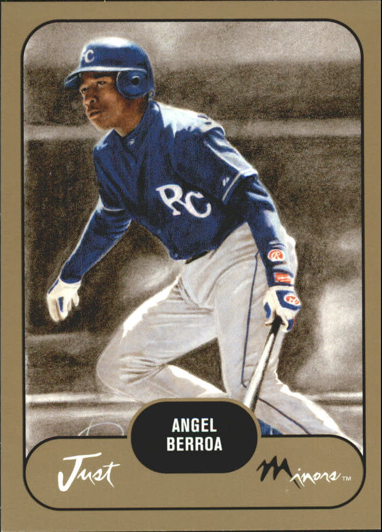 2002 Just Prospects Gold #2 Angel Berroa