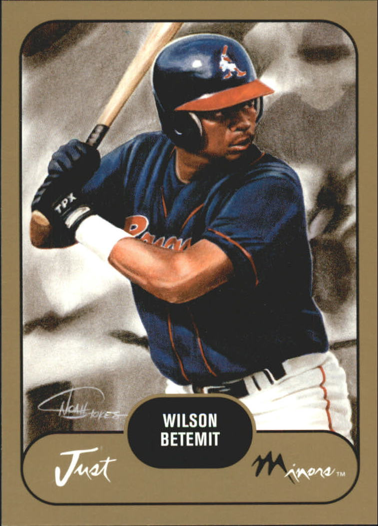 2002 Just Prospects Gold #3 Wilson Betemit
