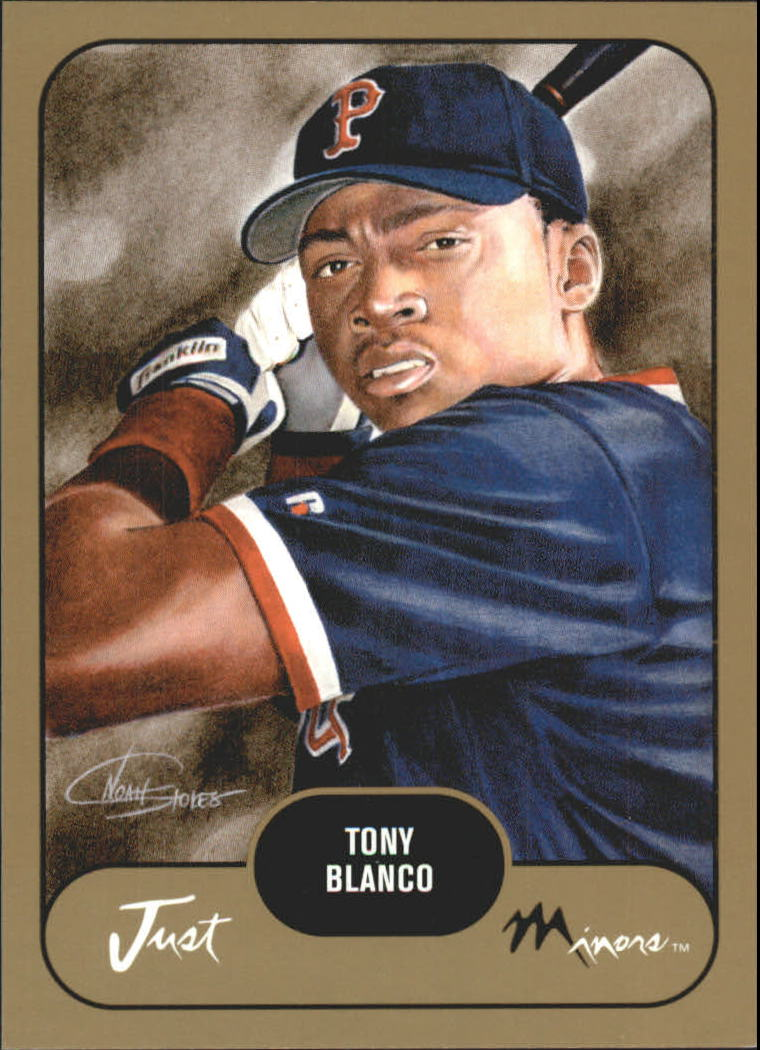 2002 Just Prospects Gold #5 Tony Blanco
