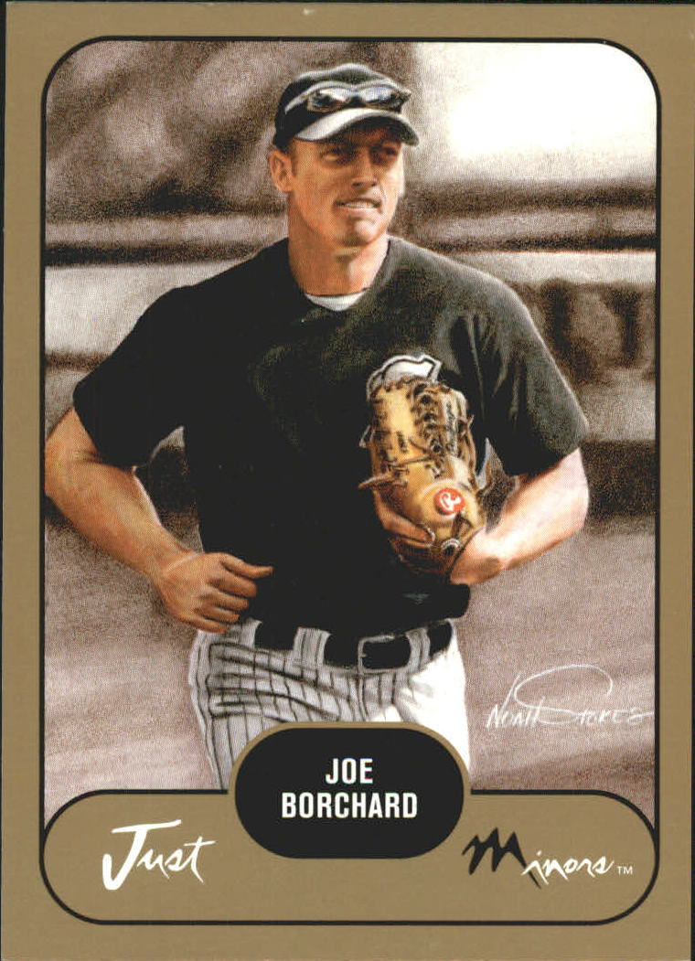2002 Just Prospects Gold #7 Joe Borchard