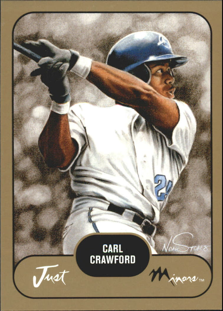 2002 Just Prospects Gold #8 Carl Crawford