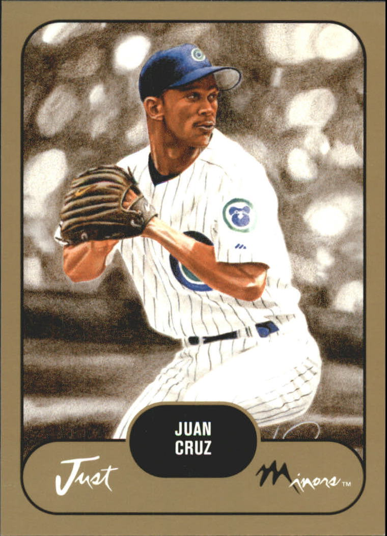 2002 Just Prospects Gold #9 Juan Cruz