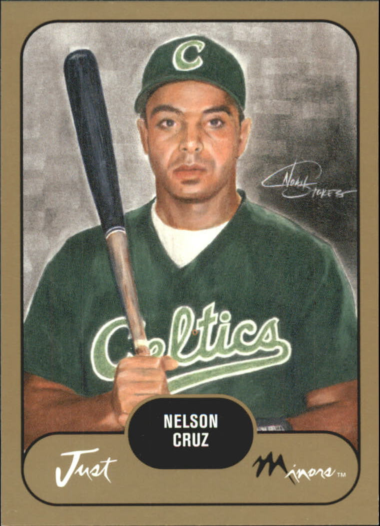 2002 Just Prospects Gold #10 Nelson Cruz front image