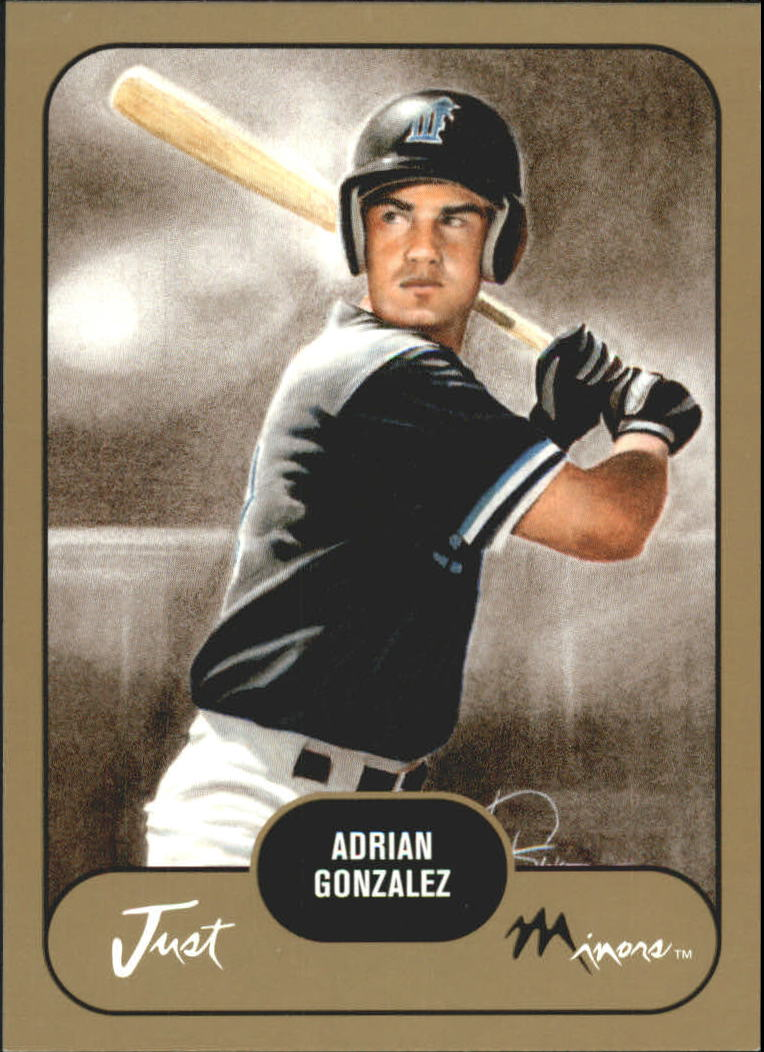 2002 Just Prospects Gold #14 Adrian Gonzalez