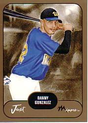 2002 Just Prospects Gold #15 Danny Gonzalez
