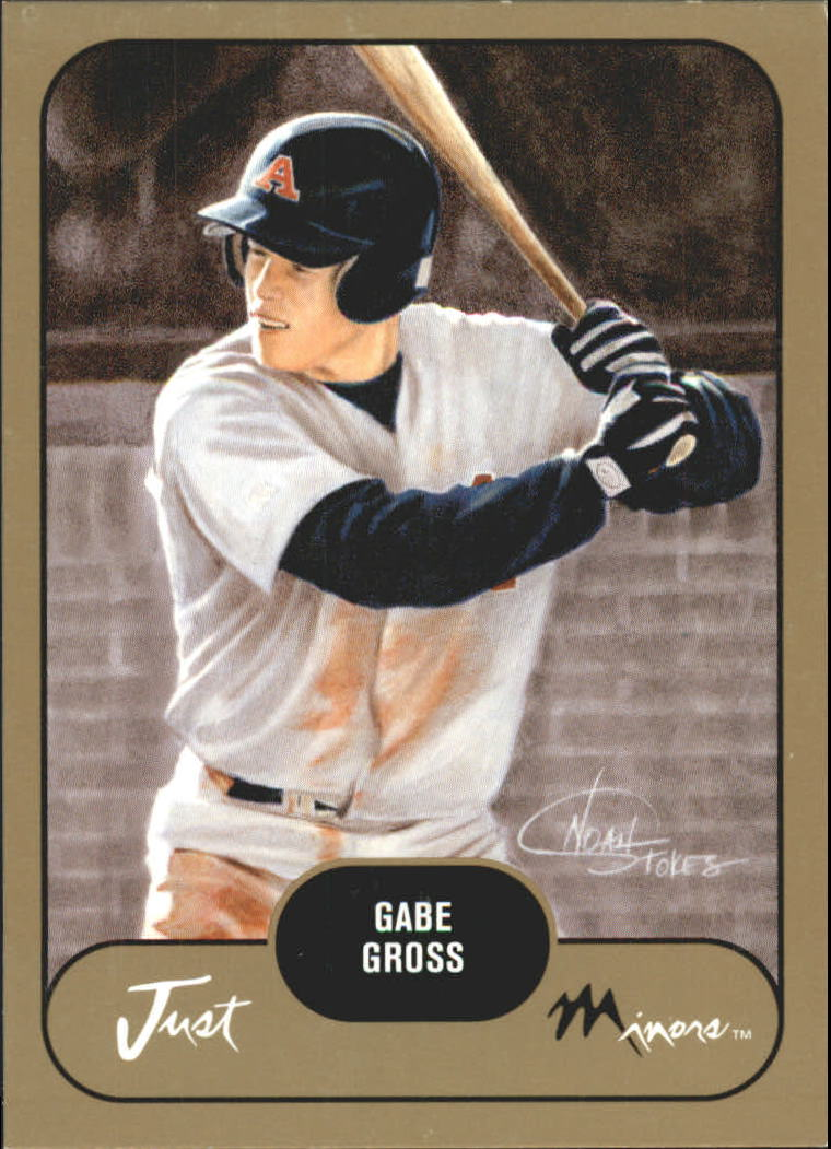 2002 Just Prospects Gold #16 Gabe Gross