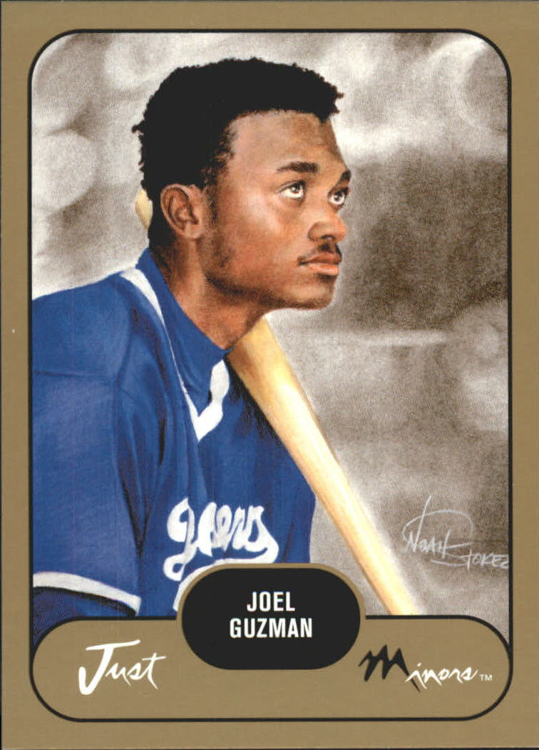 2002 Just Prospects Gold #18 Joel Guzman