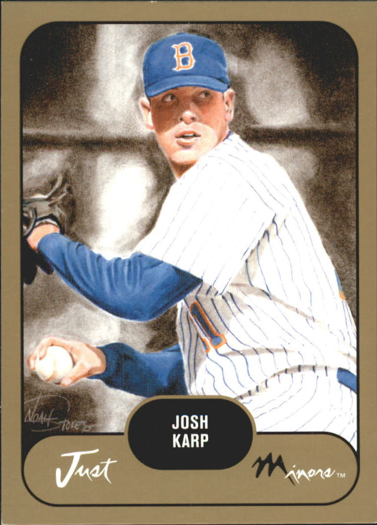 2002 Just Prospects Gold #19 Josh Karp