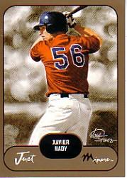 2002 Just Prospects Gold #24 Xavier Nady