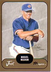 2002 Just Prospects Gold #26 Miguel Negron