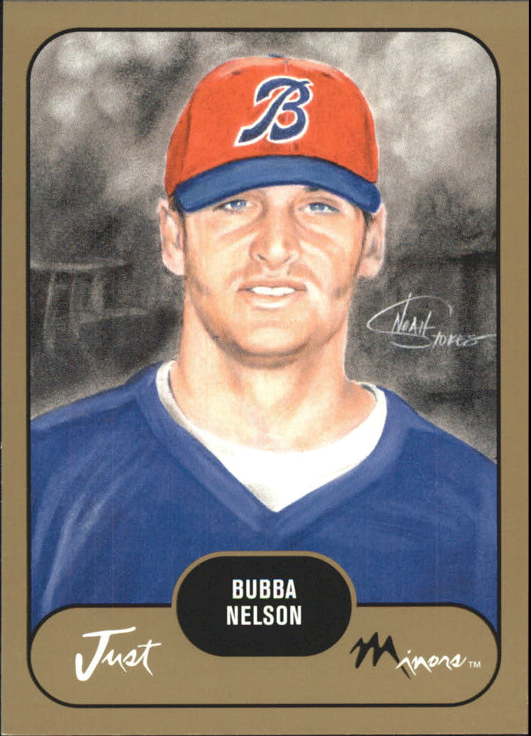 2002 Just Prospects Gold #27 Bubba Nelson