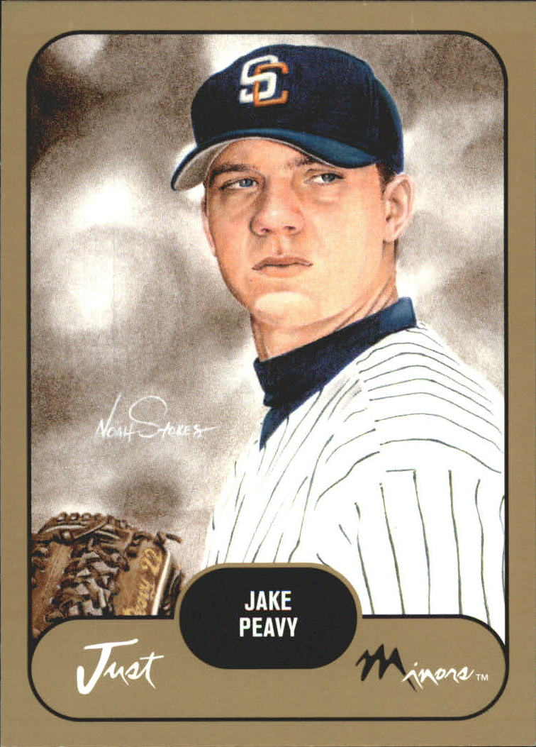 2002 Just Prospects Gold #29 Jake Peavy