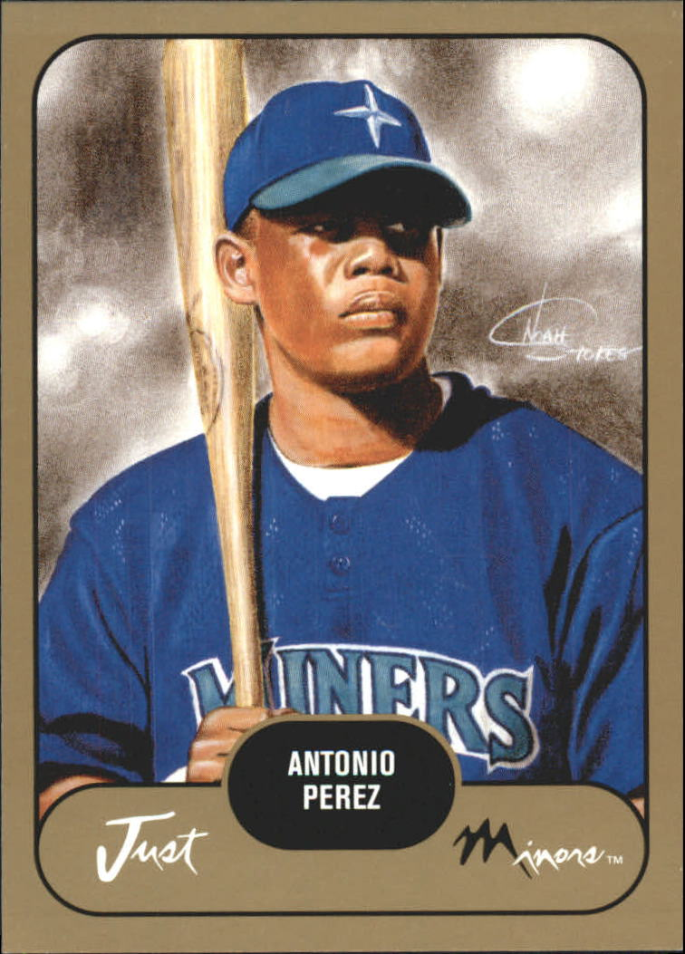 2002 Just Prospects Gold #31 Antonio Perez