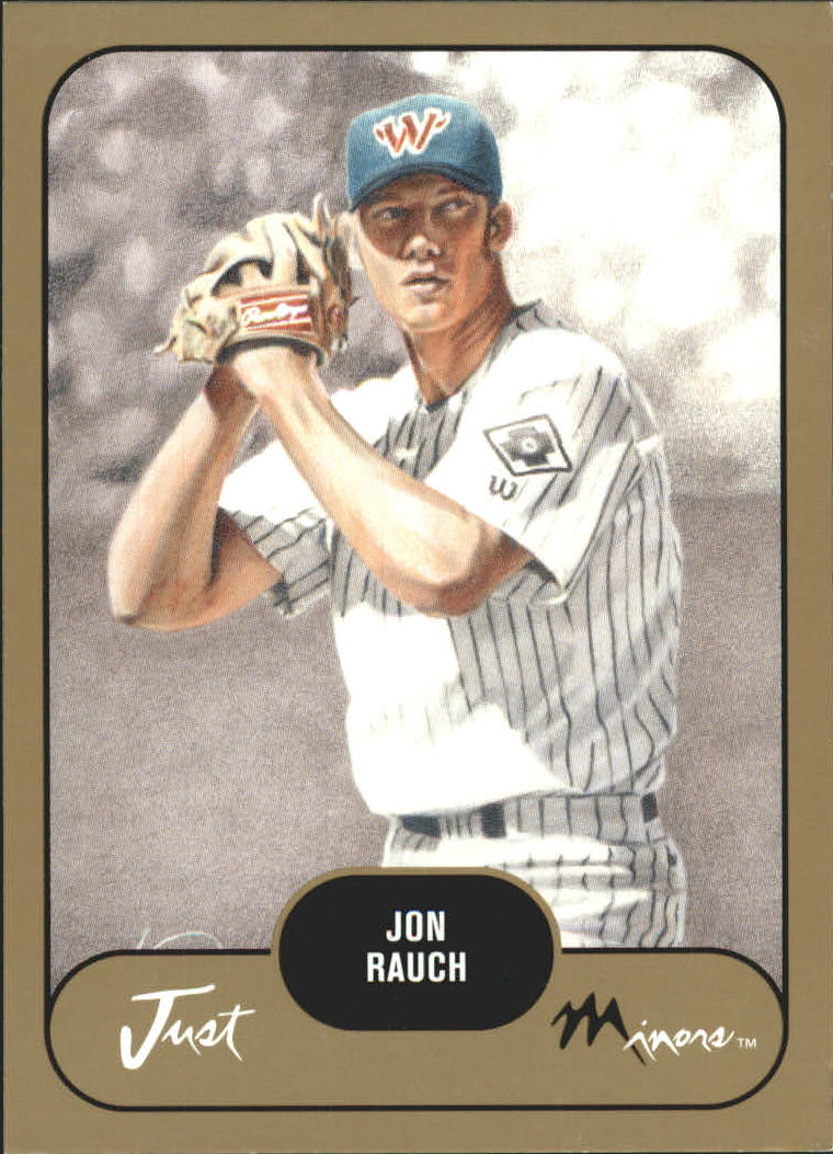 2002 Just Prospects Gold #32 Jon Rauch