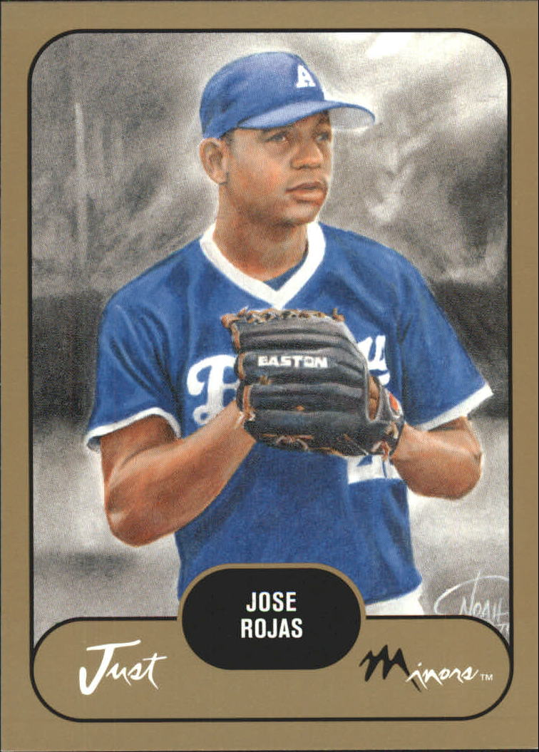 2002 Just Prospects Gold #33 Jose Rojas