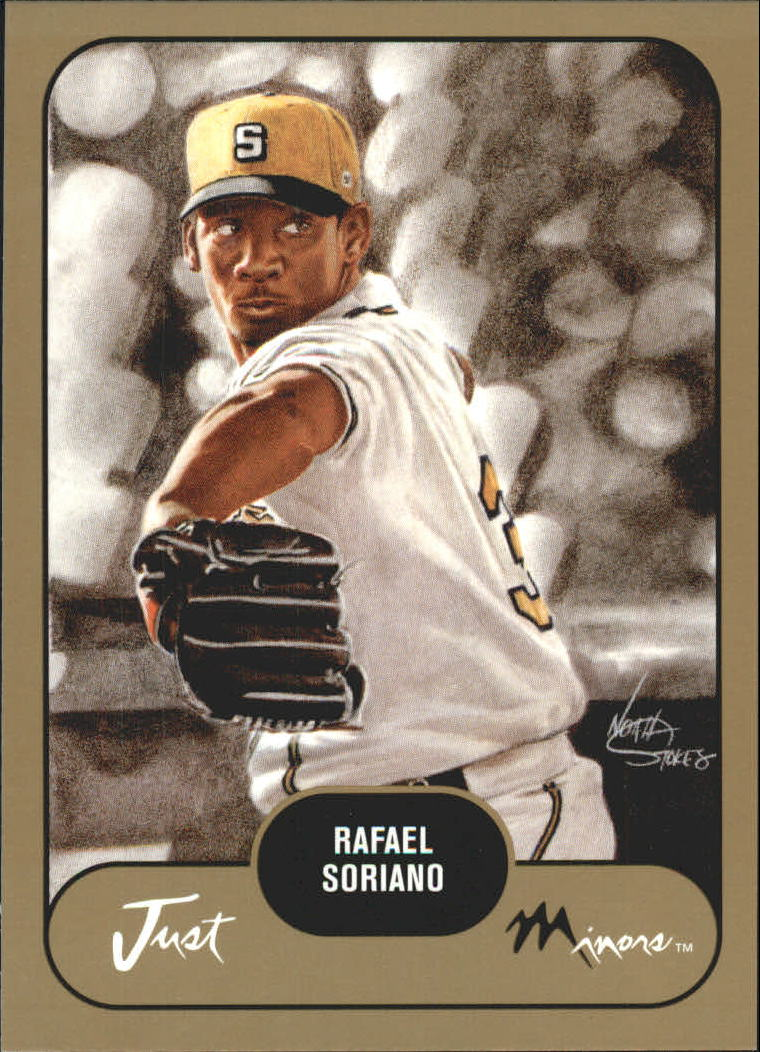 2002 Just Prospects Gold #36 Rafael Soriano