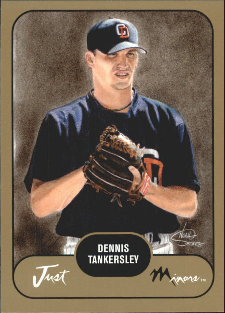 2002 Just Prospects Gold #37 Dennis Tankersley