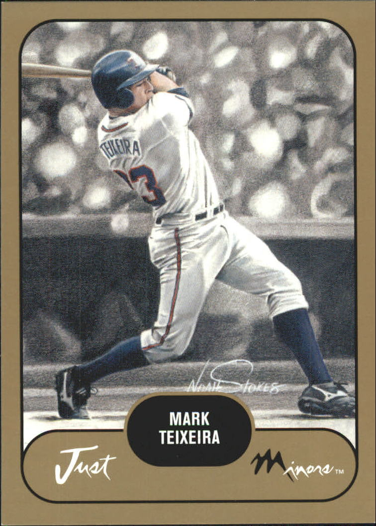 2002 Just Prospects Gold #38 Mark Teixeira